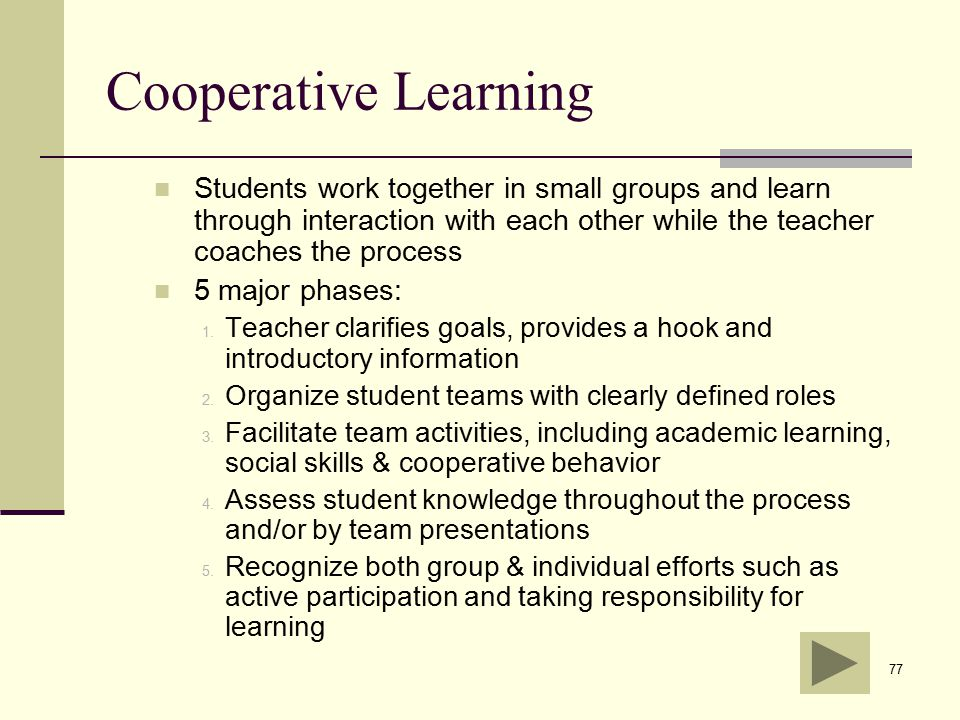 Collaborative Learning In Classroom Interaction ~ Performance assessment for california teachers ppt download