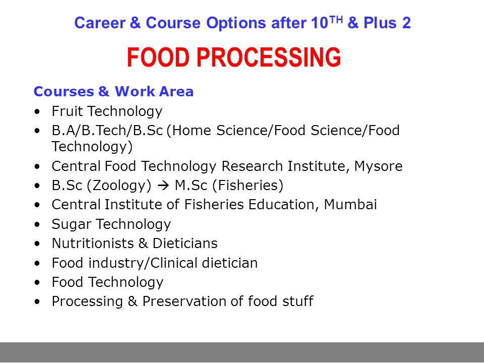 food chemistry options report Career options food science careers involve chemistry in many aspects of food preparation, distribution and handling food and flavor chemists are two major occupations within the food chemistry field both involve making sure that processed and raw foods are safe and palatable for the general public.