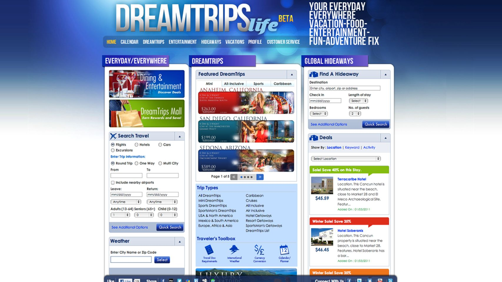 DreamTrips Life Screen Shot 1