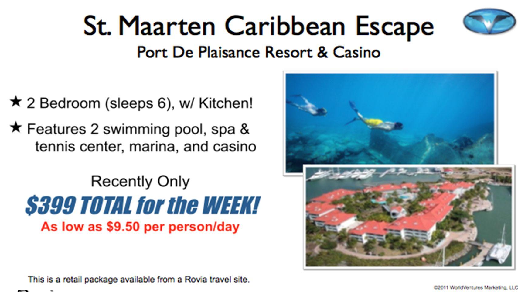 St. Marten Caribbean Escape