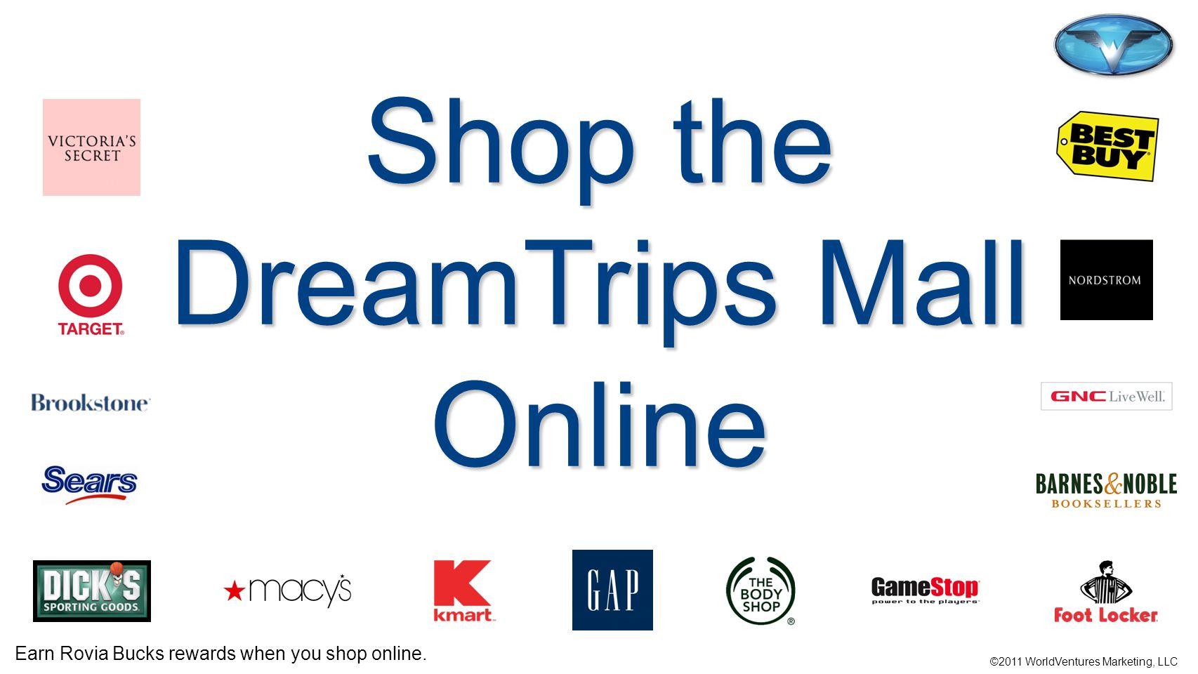 Shop the DreamTrips Mall Online