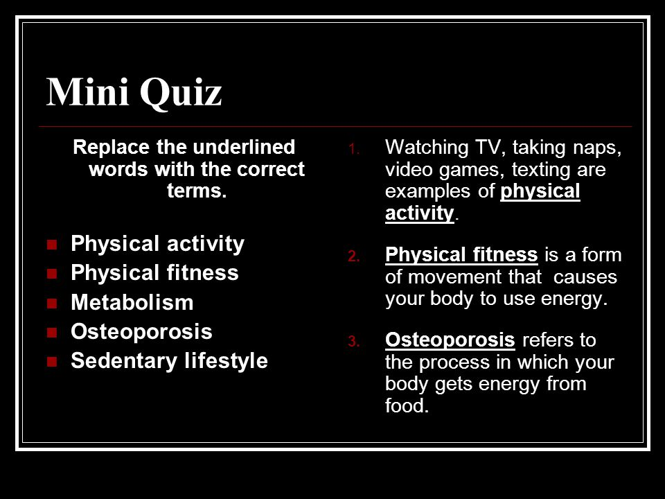 What Are Some Benefits of Physical Fitness?