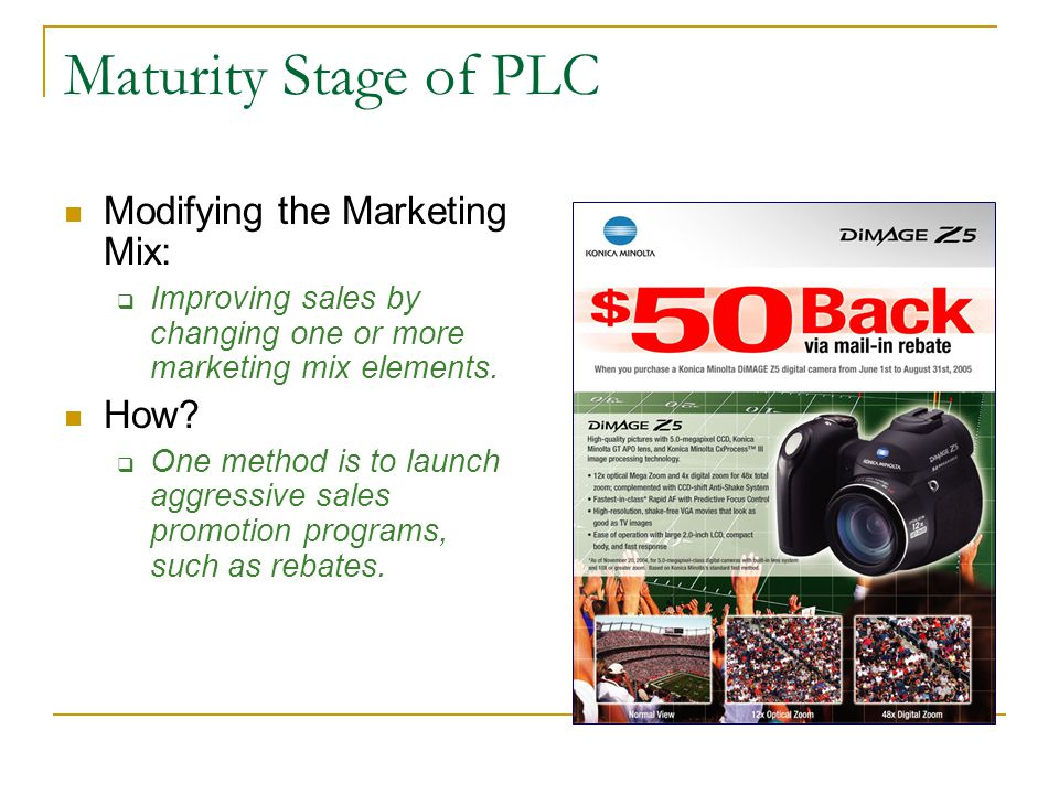 plc and marketing mix Learn how to use the jerome mccarthy marketing mix, the 4p 's including an example, in order to deploy their marketing strategy as effectively as possible.