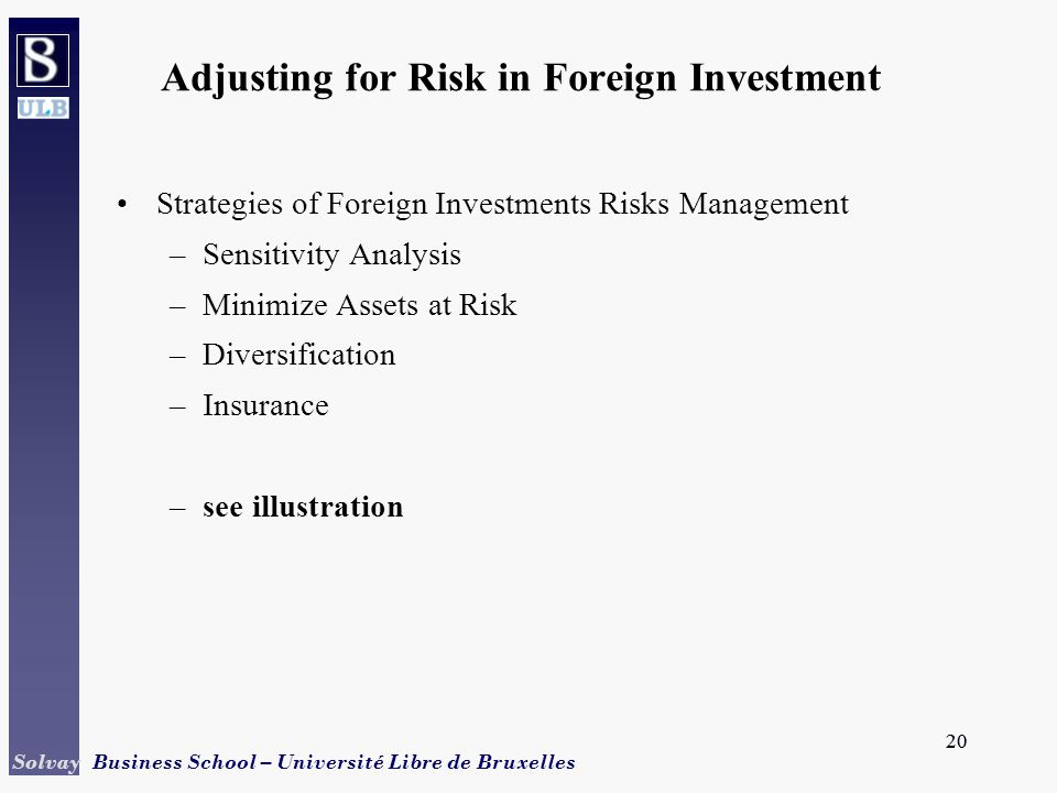 Strategy of Using Foreign Investors and Liscensees Essay
