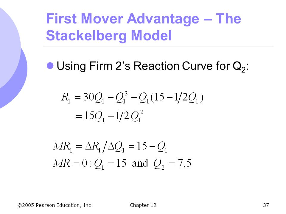 "first mover advantage essay The concept is simple and to the point ""by being the first to enter a new market, the business gains an advantage over the actual and potential rivals"" (first mover advantage, 2012) the chart below gives advantages and disadvantages for being the first mover to being the late mover."