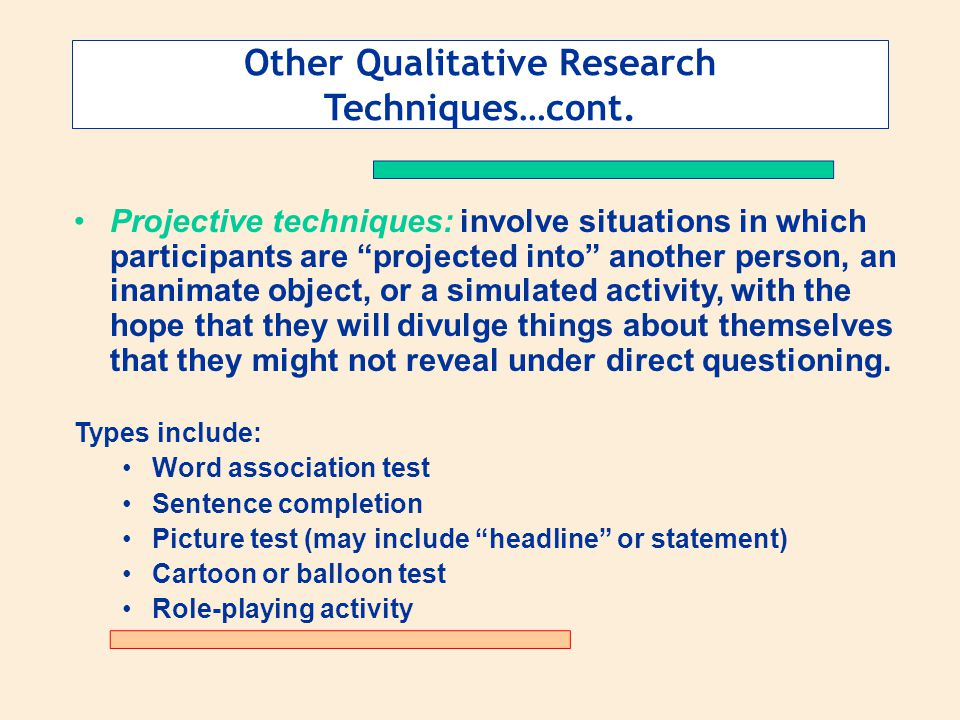 projective techniques in market research Polish journal of management studies: tytuł artykułu:  haire m, projective techniques in marketing research, journal of marketing, 14/1950, pp 649-656 [16.