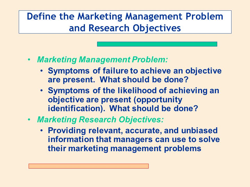 problems and methods in marketing management Main object of this research paper is to show the marketing strategies and quality management of five  questionnaire methods and  management are the problems.