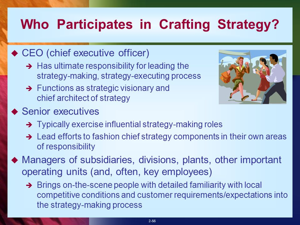 The managerial process of crafting and