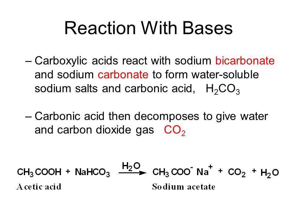 reaction rates sodium bicarbonate concentration Science rate of reaction vinegar the sodium bicarbonate vinegar and baking soda and how changing the vinegar concentration will change this rate of.