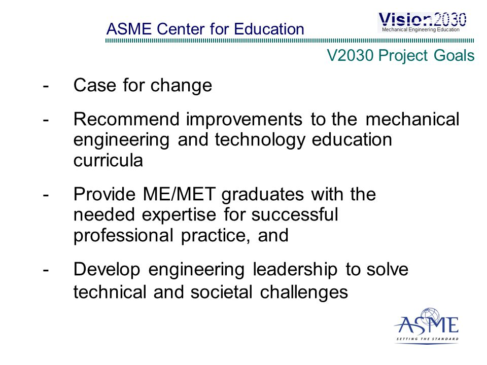 Mechanical Engineering Education Requirements