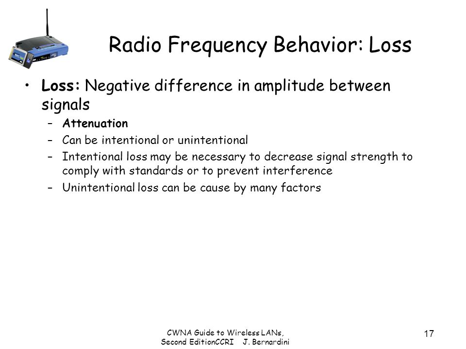 Radio Frequency Behavior: Loss