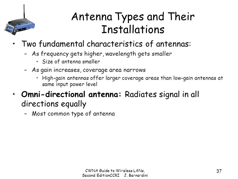 Antenna Types and Their Installations