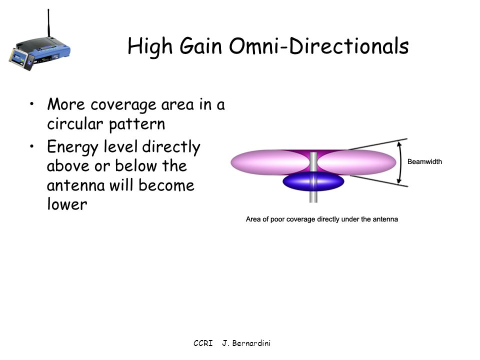 High Gain Omni-Directionals