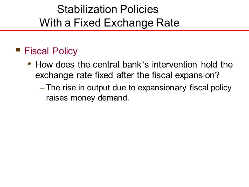 stabilization policy Optimal target criteria for stabilization policy marc p giannoni and michael  woodford federal reserve bank of new york staff reports, no 535 january.
