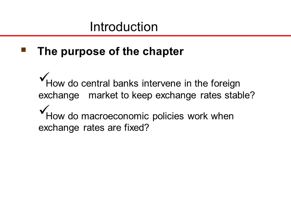 How does foreign exchange work