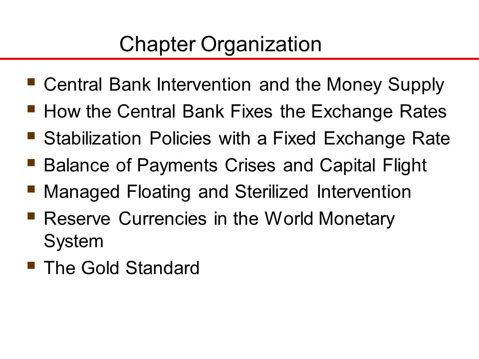 fixed exchange rate system of gold standard Some nations benefit from a fixed exchange rate system, however nations such as brazil, kenya and  this system was a gold exchange standard.