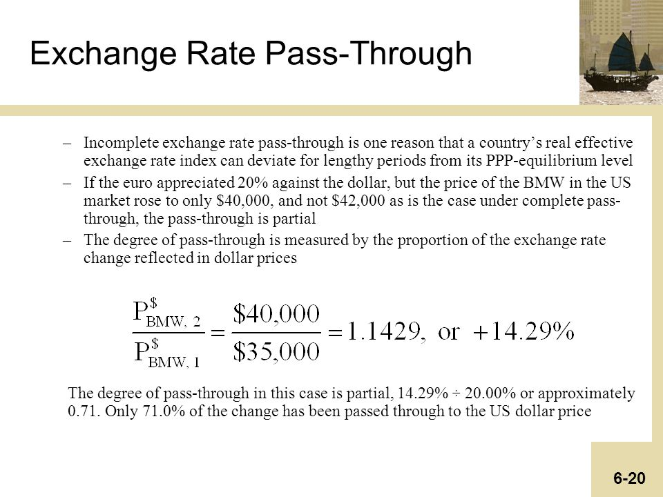 exchange rate pass through Pdf on researchgate | economists' long-standing interest in the degree to  which exchange rate movements are reflected in prices was rekindled in the  1970s.