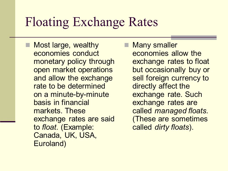 Largest exchange rate