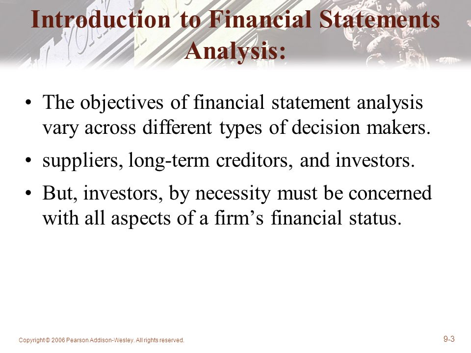 Discuss the four different types of financial statements. Ex