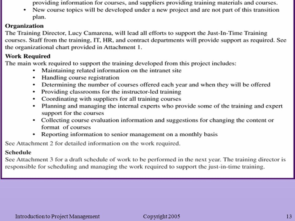 Chapter 8: Closing Projects - Ppt Video Online Download