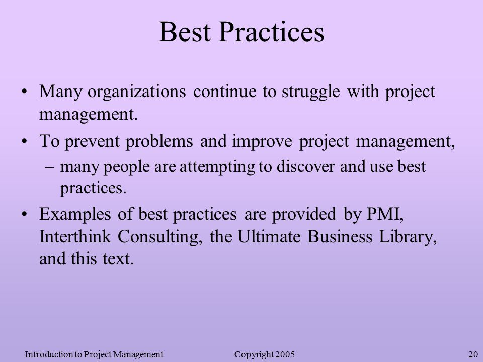 8 Best Practices in Business Management