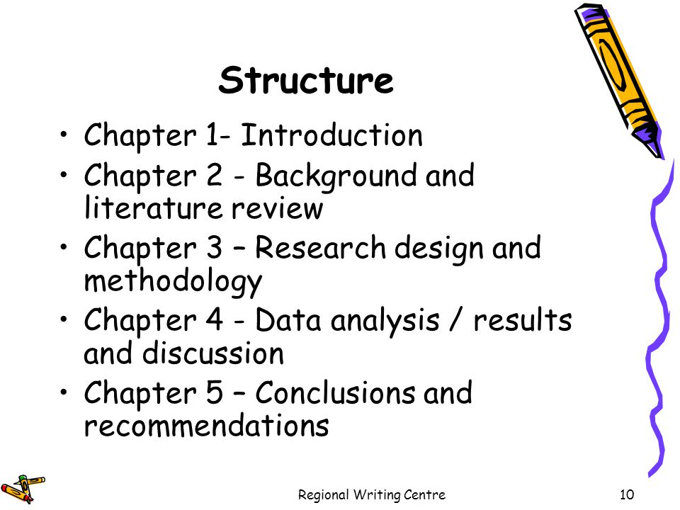 Example of technical background in thesis