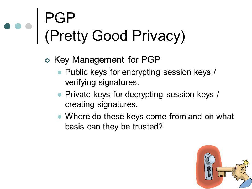creting pgp key
