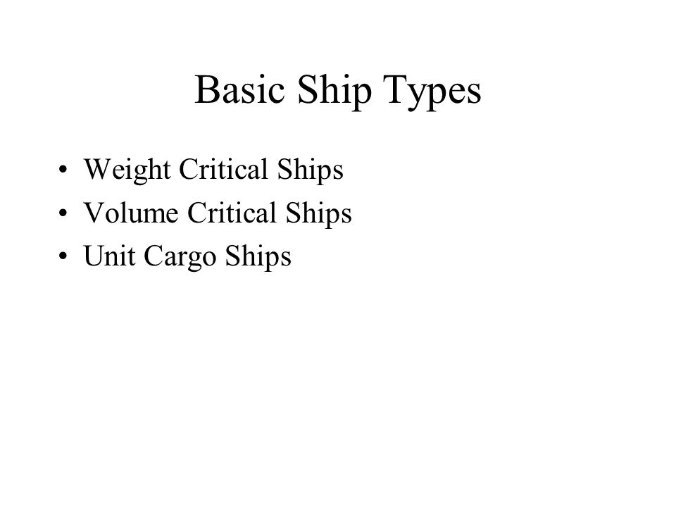 basic ship types Basic design services that include the conceptual and contractual design phases, occupy a very important era in the ship design project using wide experience on numerous ship design projects for different ship types of various tonnages and most updated technological tools, delta marine presents high quality basic.