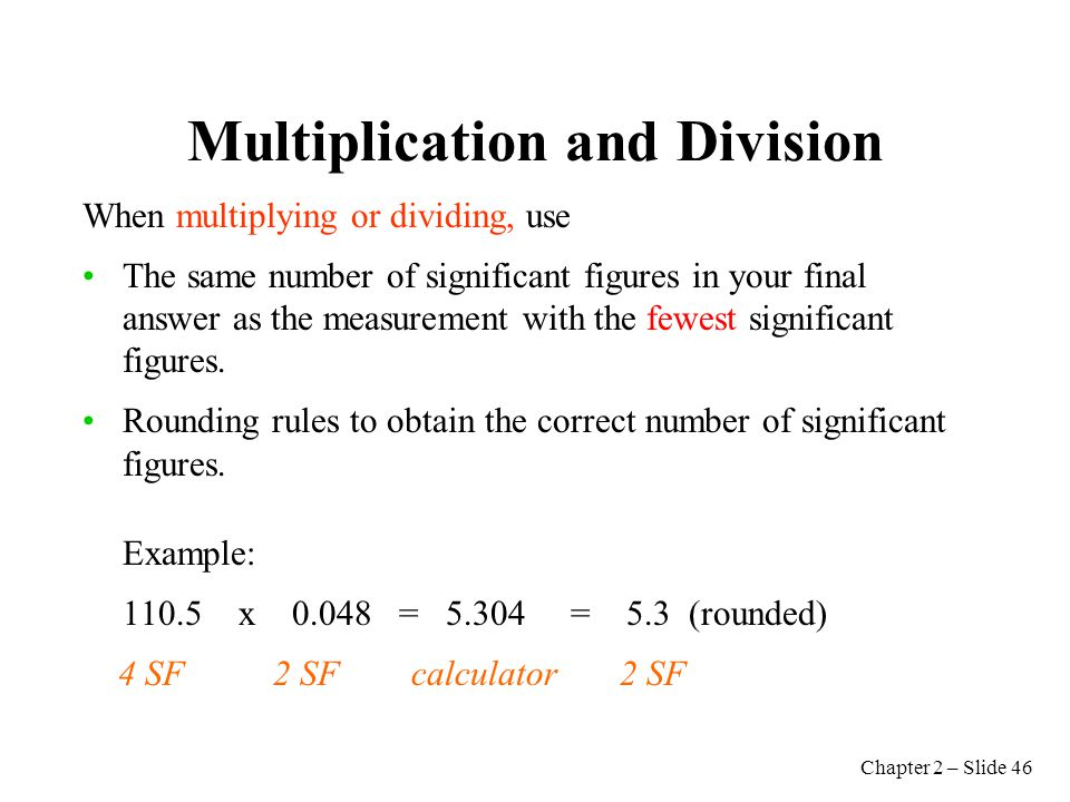 how to find significant figures when multiplying