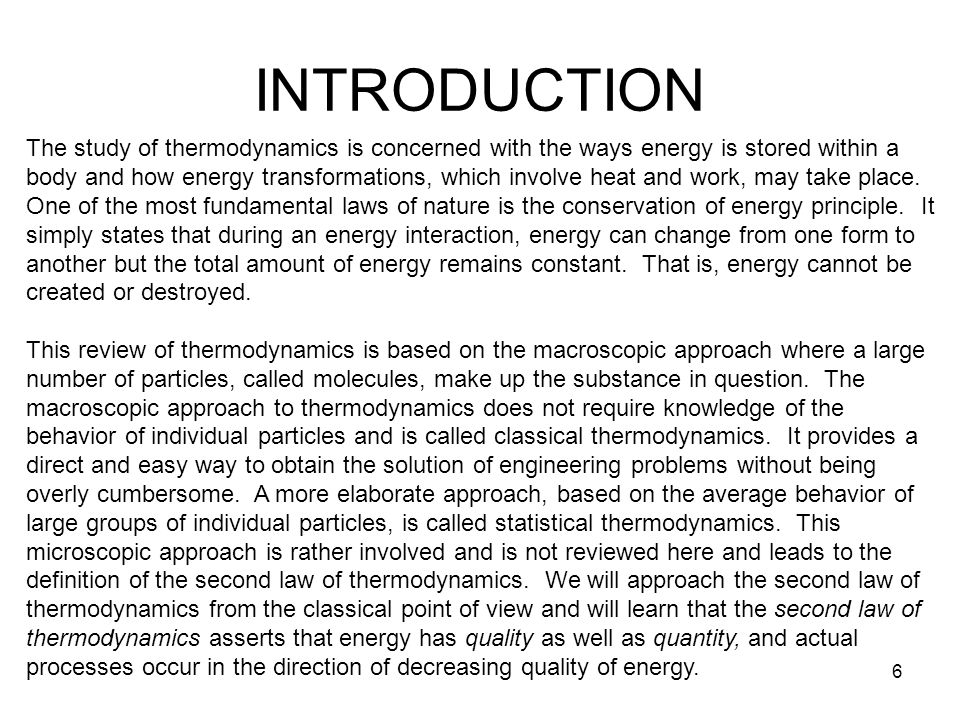 thermodynamics processes and applications pdf