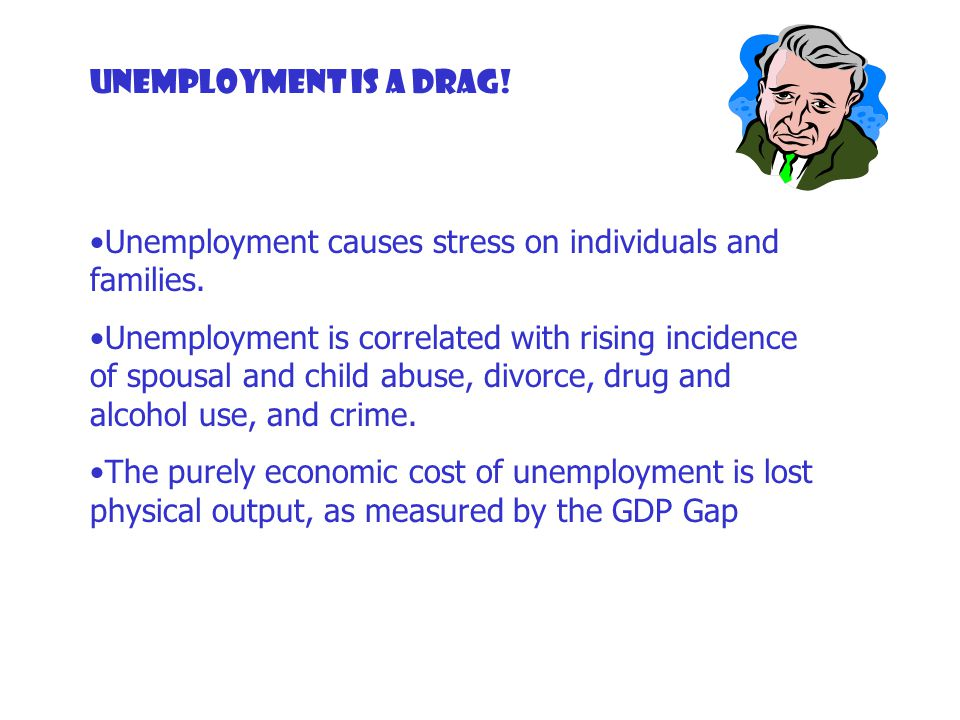 outline the causes of both unemployment Types of unemployment there are several types of unemployment, each one defined in terms of cause and severity cyclical unemployment cyclical unemployment exists when individuals lose their jobs as a result of a downturn in aggregate demand ().