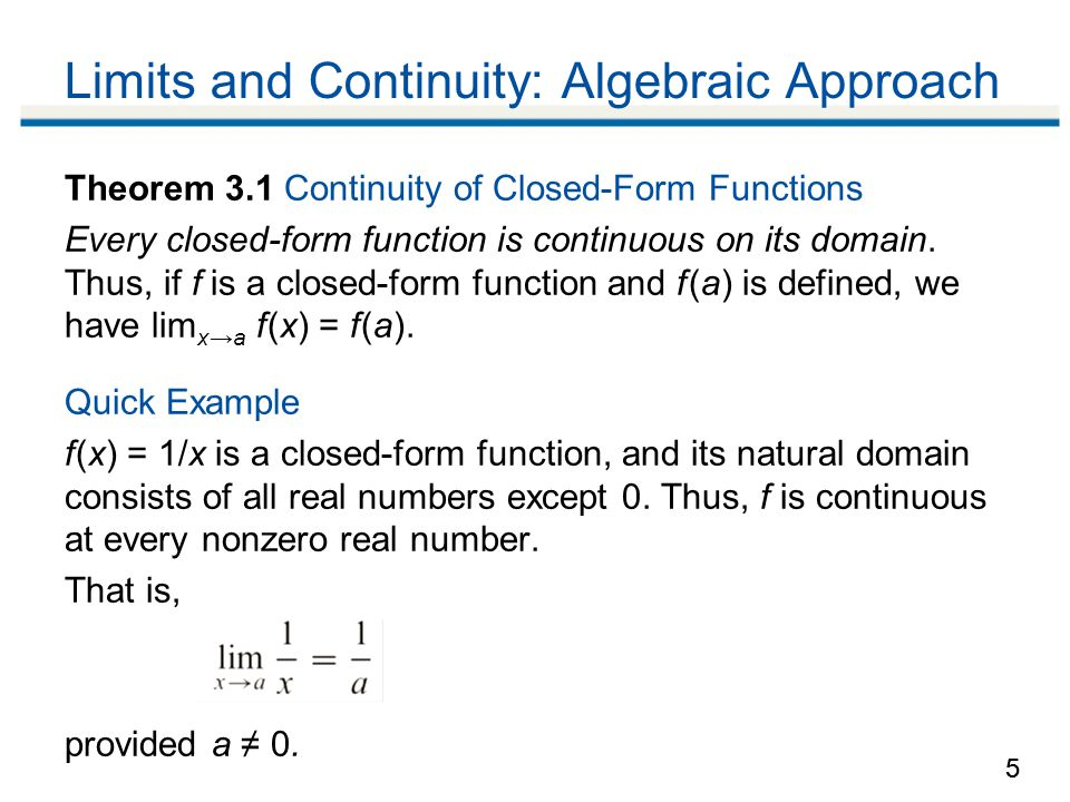 limit and contuinity Read on limit and continuity in calculus and improve your skills on limit and  continuity in calculus through worksheets, faq's and examples.