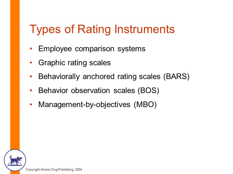 Types of Rating Instruments