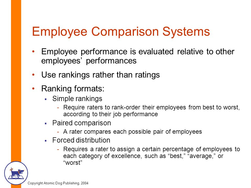 Employee Comparison Systems
