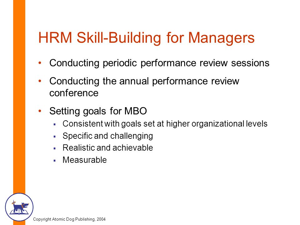 HRM Skill-Building for Managers
