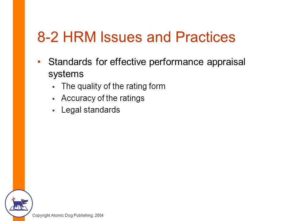 8-2 HRM Issues and Practices