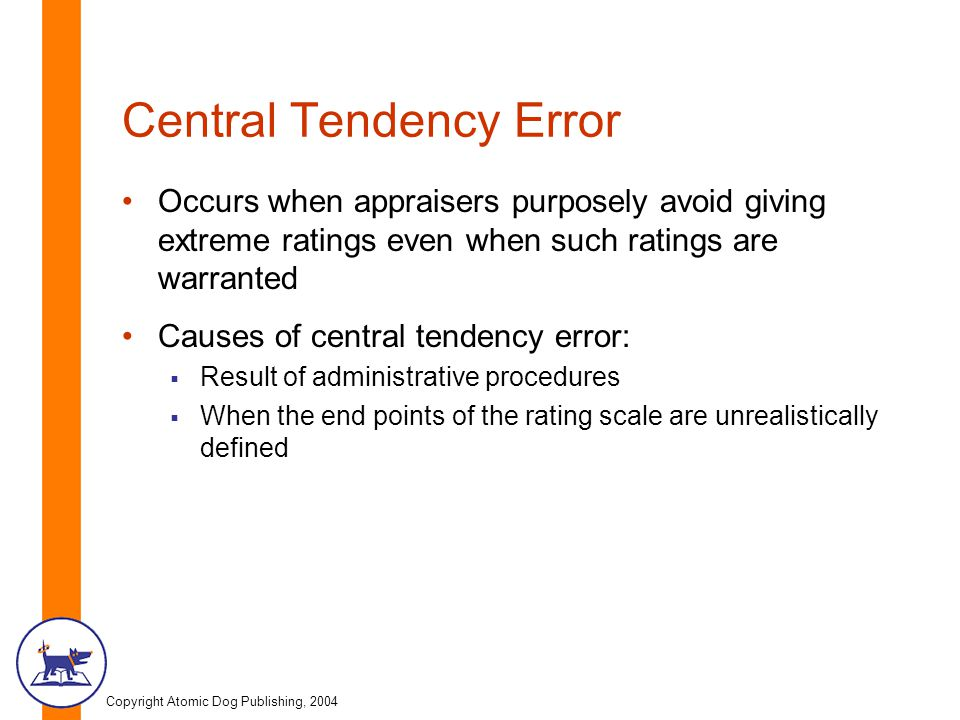 Central Tendency Error