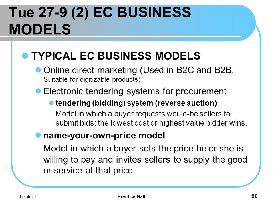 EC BUSINESS MODELS Find the best price affiliate marketing