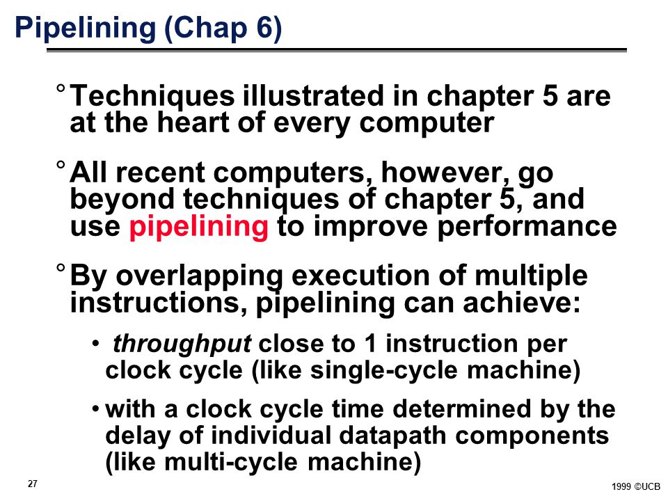 Techniques illustrated in chapter 5 are at the heart of every computer