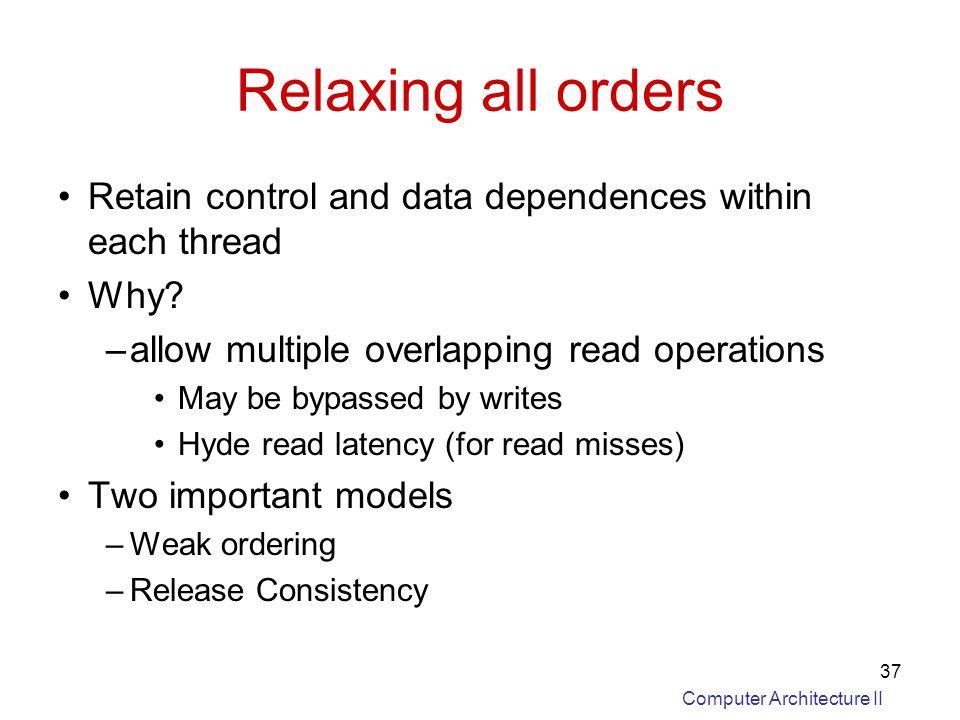 control memory in computer architecture pdf