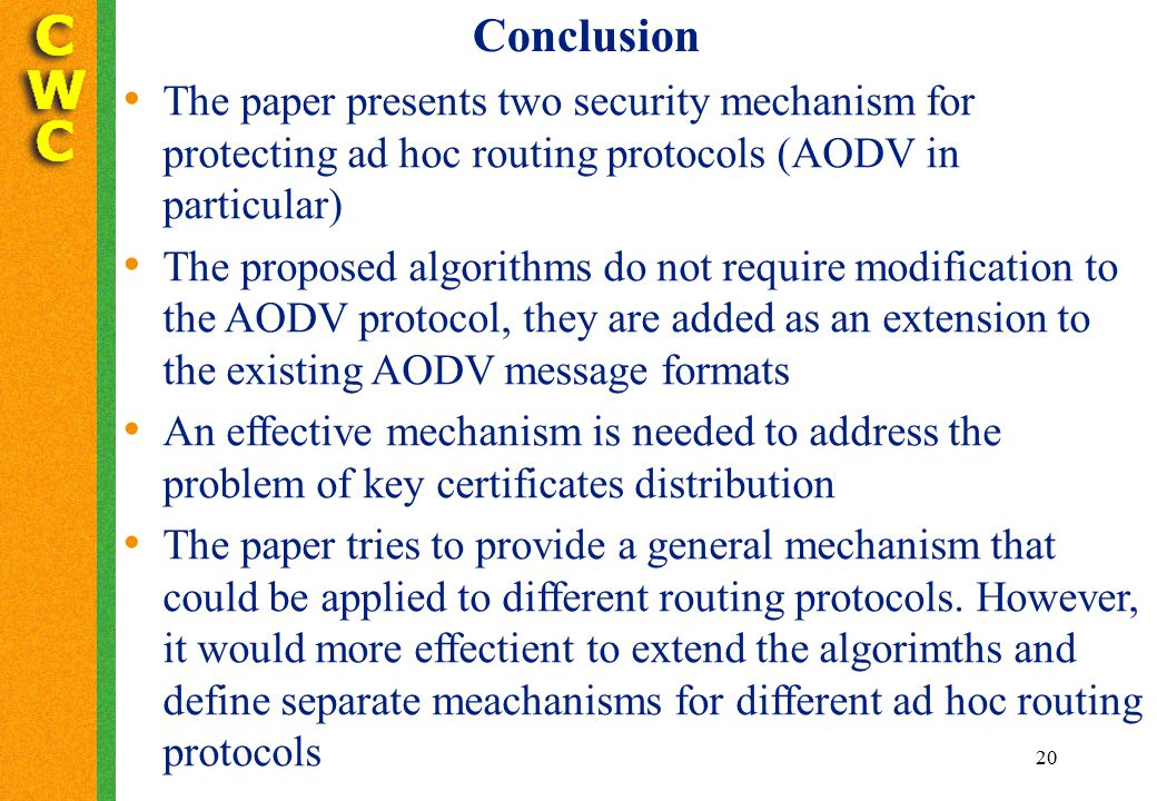 extending the aodv protocol to provide Extending the aodv protocol to provide quality of service in mobile ad hoc networks nadir bouchama cerist research center, 03 rue des fr©res aissou, ben aknoun.