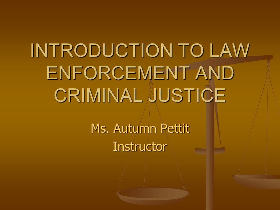 an introduction to the law enforcement profession Law enforcement in the 21st century is the first book to examine the  linkages and law enforcement: an introduction to the linkage  policing as a profession.