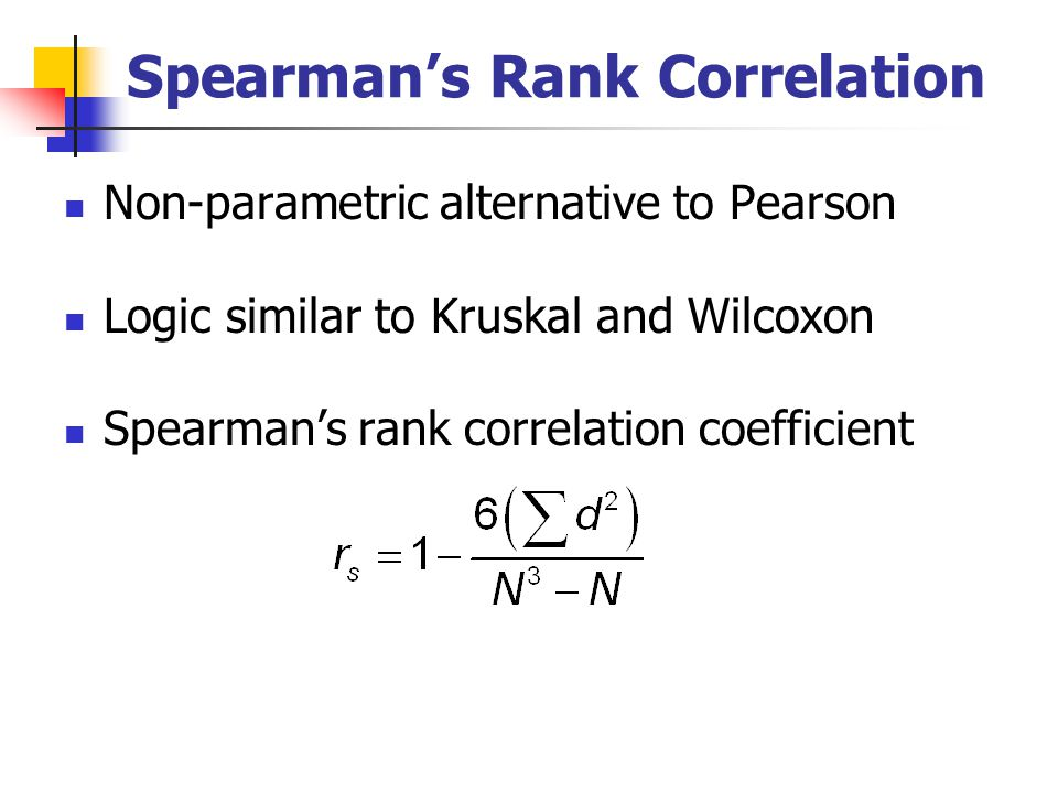 spearman correlation coefficient Spearman's correlation coefficient spearman's correlation coefficient is a statistical measure of the strength of a monotonic relationship between paired data.