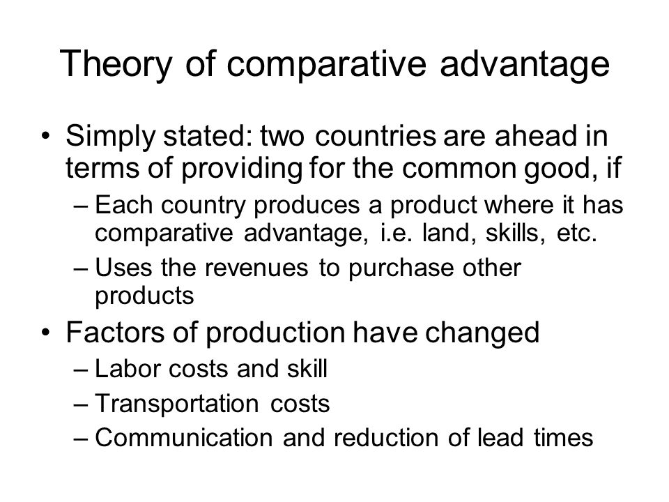 the comparative advantage of greece in the era - comparative advantage is a principle developed by david ricardo in the early 19th century to explain the benefits of mutual trade (carbaugh, 2008) many underlying assumptions of comparative advantage depend on states of economic equilibrium and an absence of economy of scale.