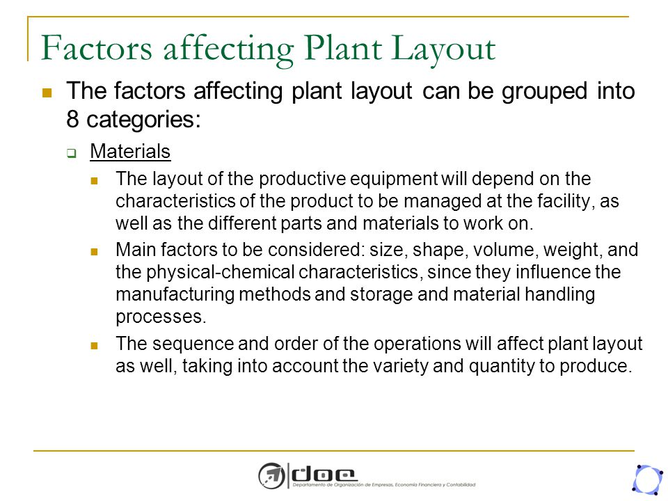 Facility Layout Planning Ppt Download