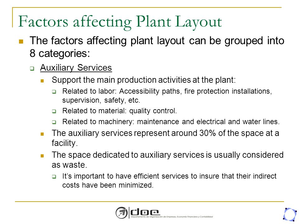 factors affecting plant design Factors affecting the cost of building work - an overview design teams, constructors and many of these factors are interlinked.