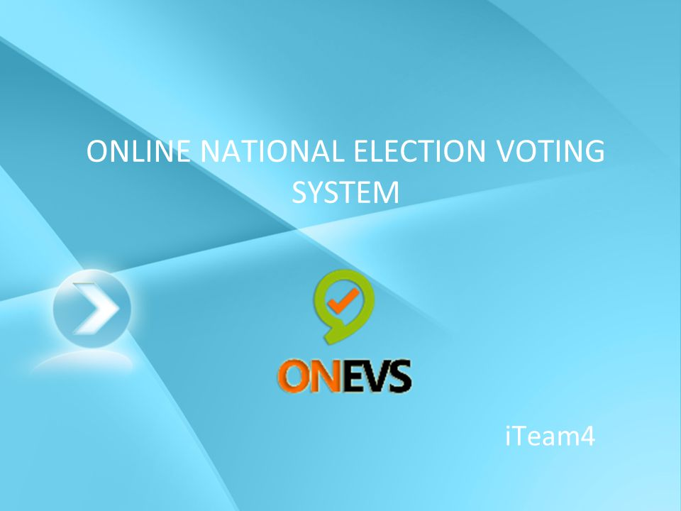ONLINE NATIONAL ELECTION VOTING SYSTEM