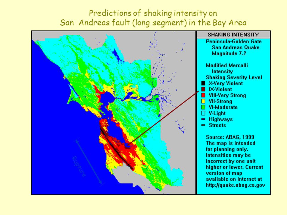 Earthquakes Causes Tectonics And Faults Ppt Video Online Download - San andreas fault map bay area
