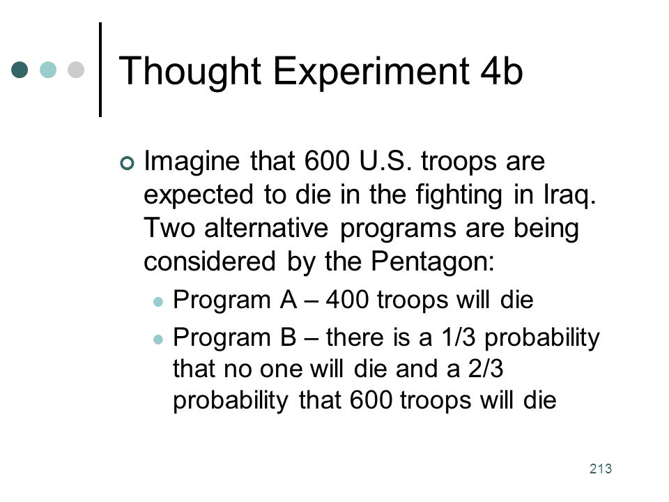 Thought Experiment 4b