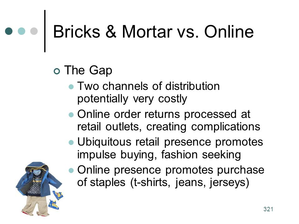 Bricks & Mortar vs. Online